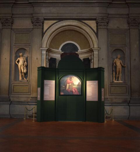 Ritratto allegorico di Dante Alighieri in Palazzo Vecchio