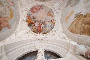 Dettaglio soffitto_Teatrino Gatteschi (Pistoia)