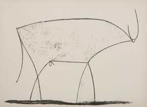 Toro di Pablo Picasso