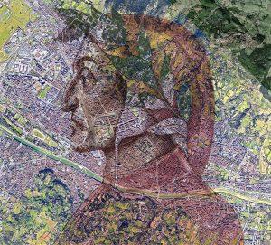 Dante in Firenze, Geoportraits